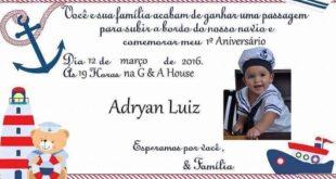 convite -elissandra